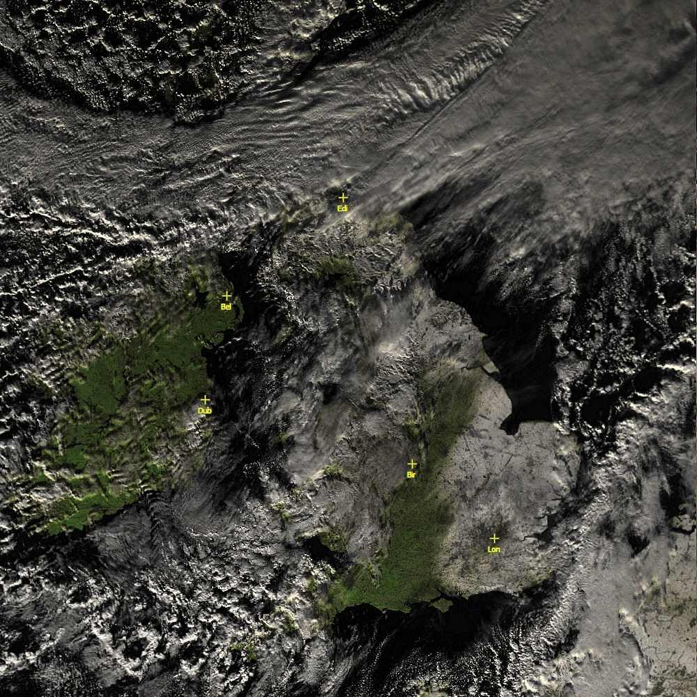 Sample MODIS image