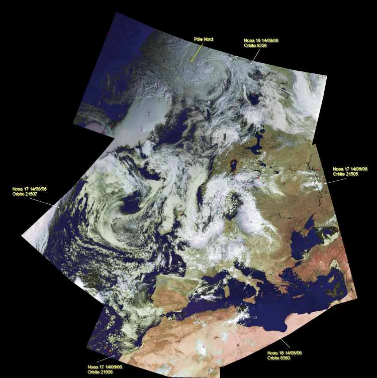 5-pass combined satellite image from NOAA-17 and NOAA-18 on 2006 August 14